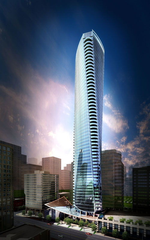 Trump Vancouver Hotel Residence The New Twist On