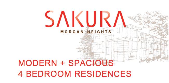 Sakura Morgan Heights Modern Townhomes in South Surrey Townhouse Guy White Rock Remax