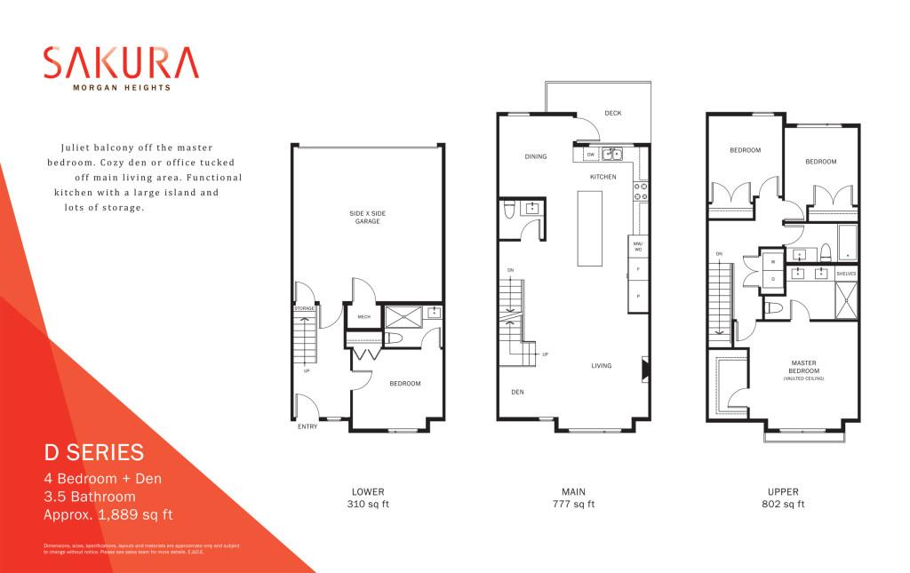 sakura townhouse floorplan-d