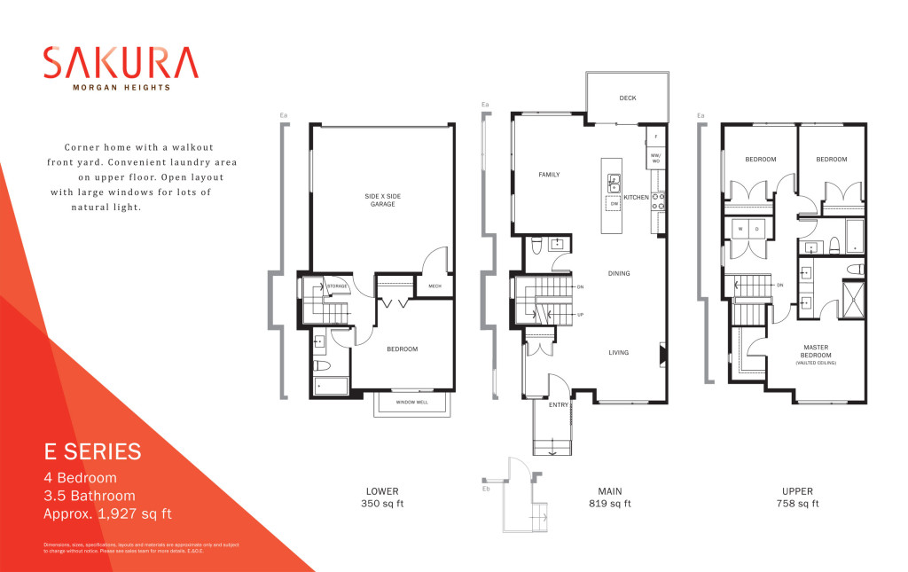 sakura townhouse floorplan-e
