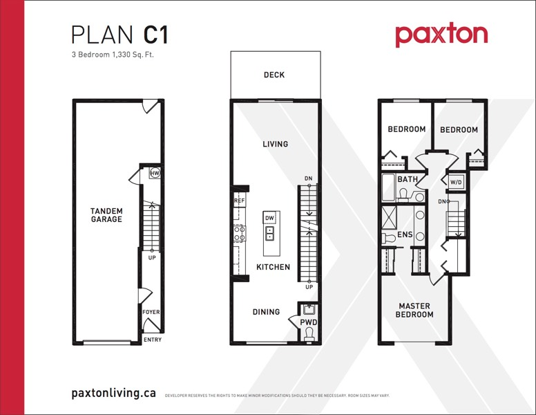 Paxton - Plan C1