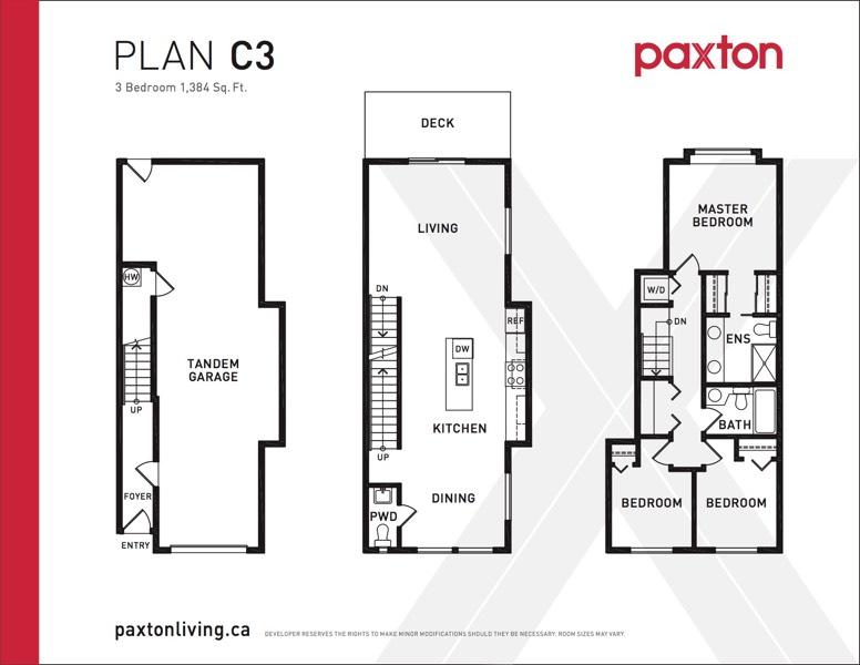 Paxton - Plan C3
