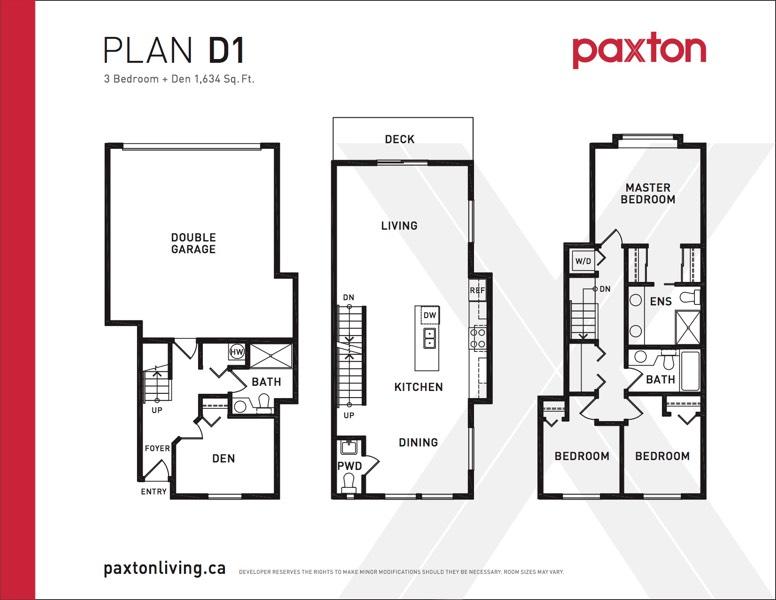 Paxton - Plan D1
