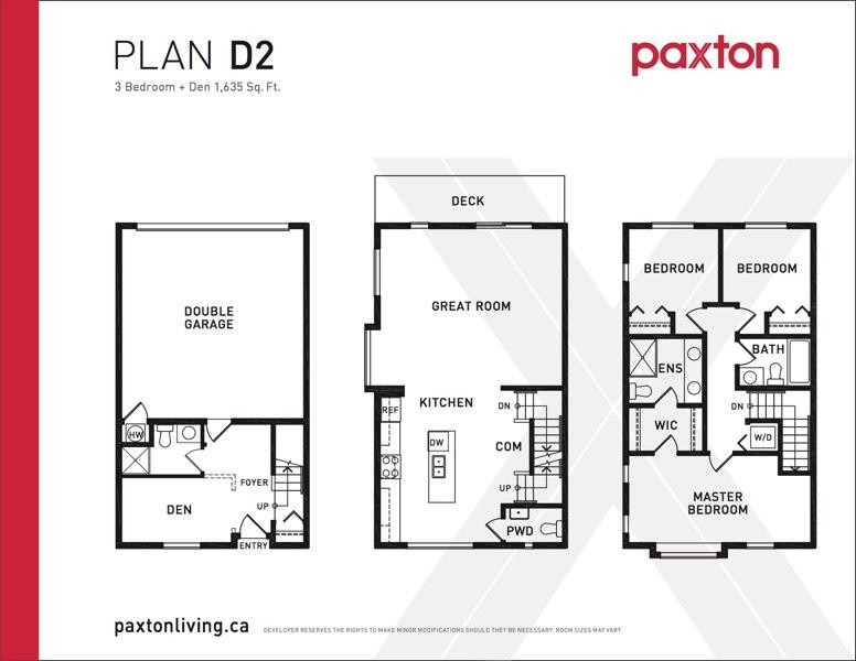 Paxton - Plan D2