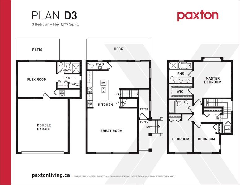 Paxton - Plan D3