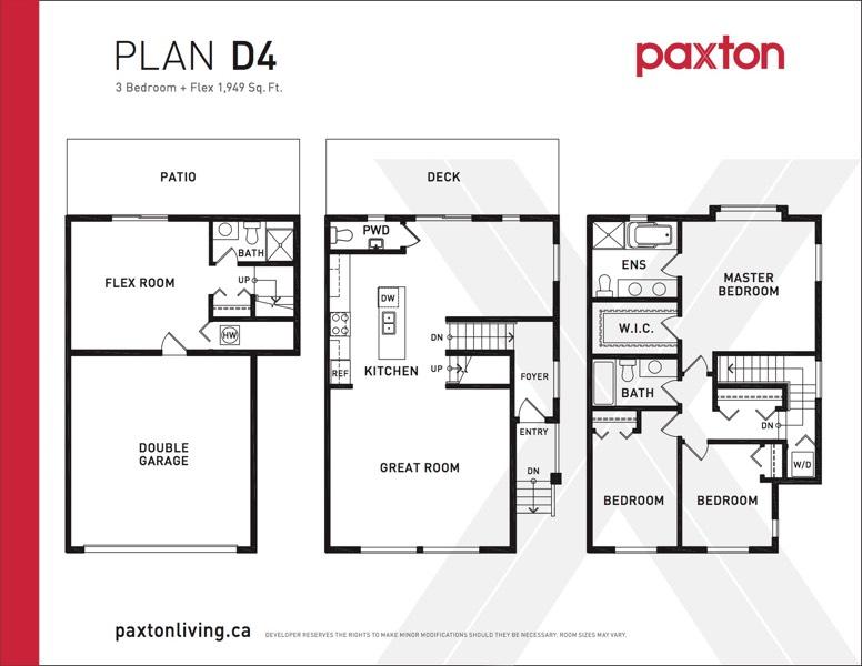 Paxton - Plan D4
