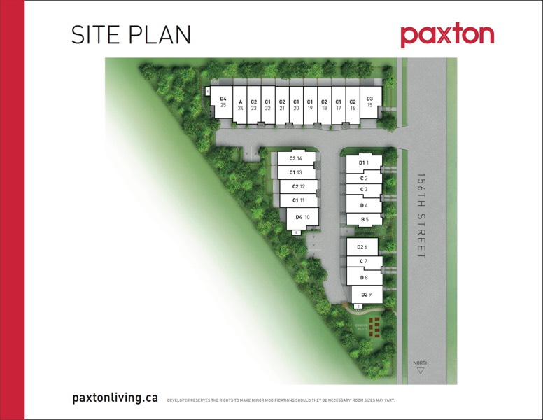 Paxton - Site Plan