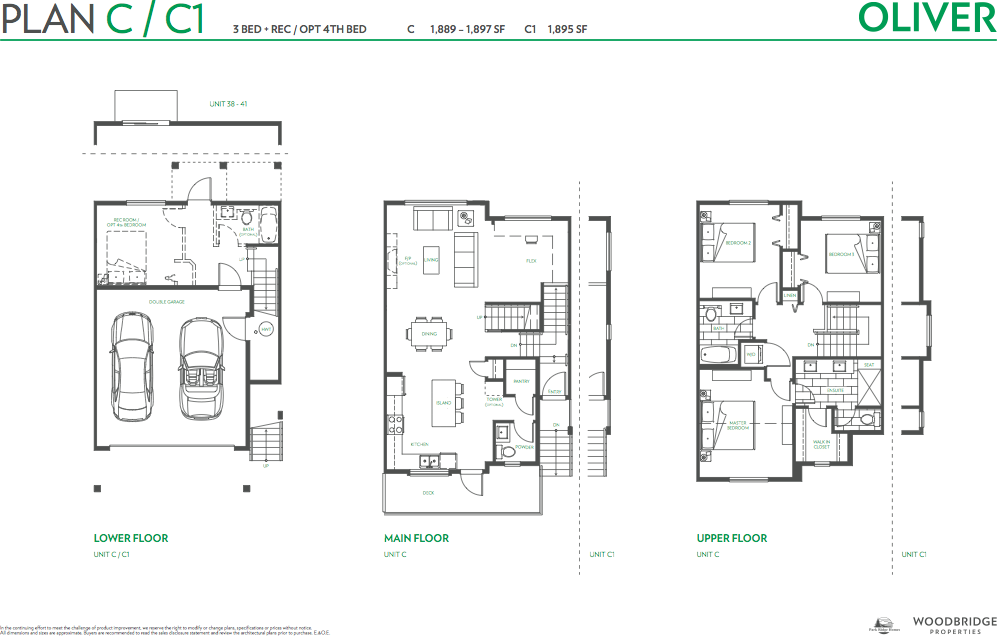 Oliver townhouse guy south surrey plan c