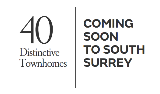 The Smith Distinctive Townhomes In South Surrey White