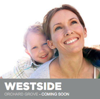 Westside townhomes at Orchard Grove