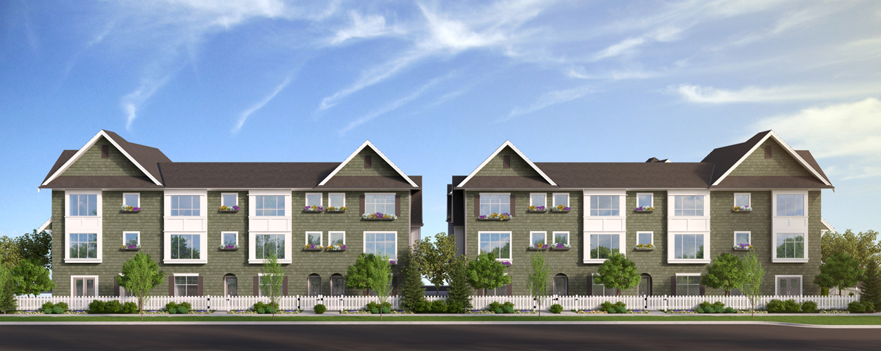 The Crossing Townhomes in South Surrey Douglas EXTERIOR