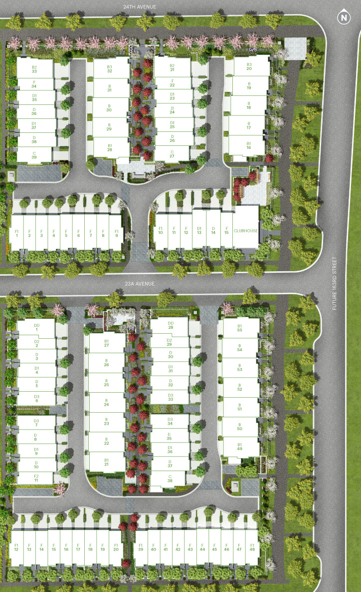 The Morgan Townhomes Site Plan