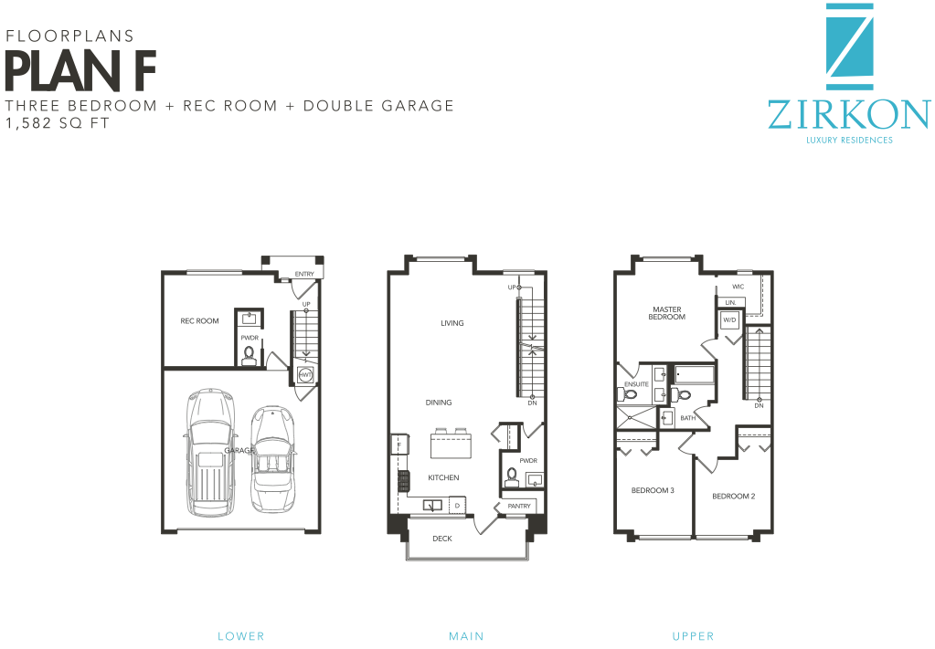 Zirkon Townhomes South Surrey Sunnyside park new townhouse development v8