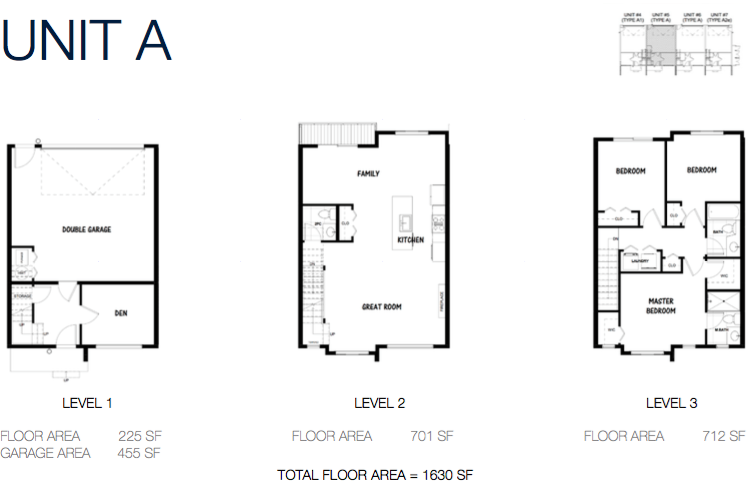 South on 16 townhome floorplans 2