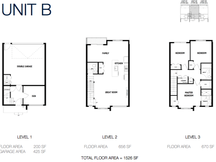 South on 16 townhome floorplans 5