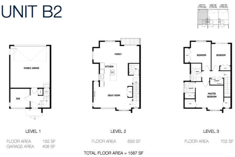 South on 16 townhome floorplans 7