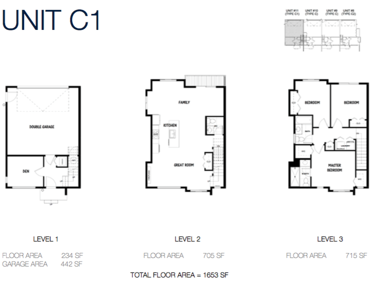 South on 16 townhome floorplans 9
