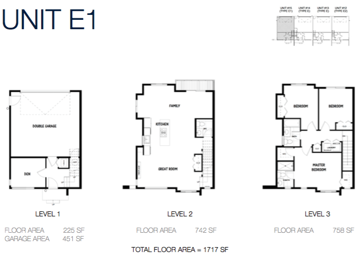 South on 16 townhome floorplans 9f