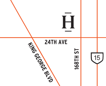 Hudson townhome location