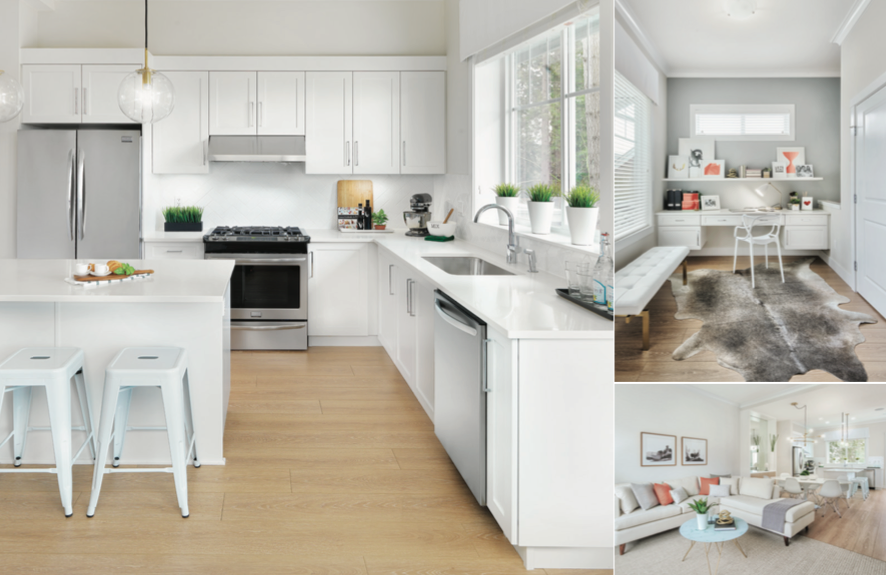 Ollivia Townhomes Kitchen