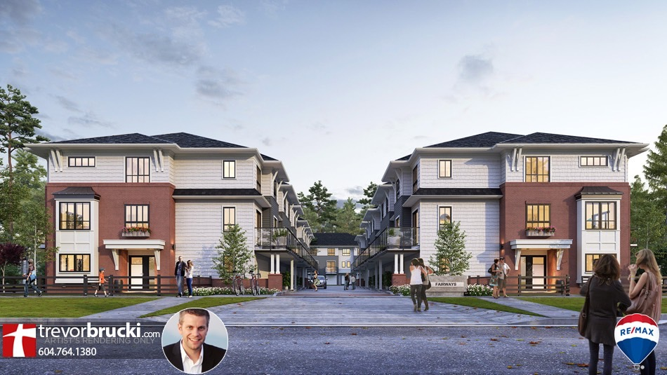Fairways townhomes in South Surrey White Rock by Zenterra